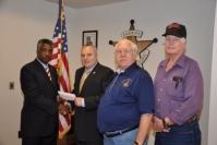 2009 Donation to Newton Cty Sheriff for Bullet Proof Vest