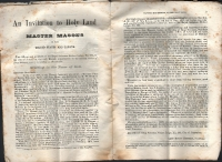 1874 144 Day Masonic Expedition Sales Flyer